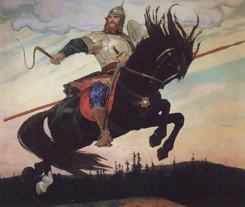 Ilya Muromets Viktor Vasnetsov