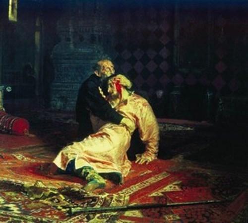 Ilya Repin. Ivan the Terrible kills his son