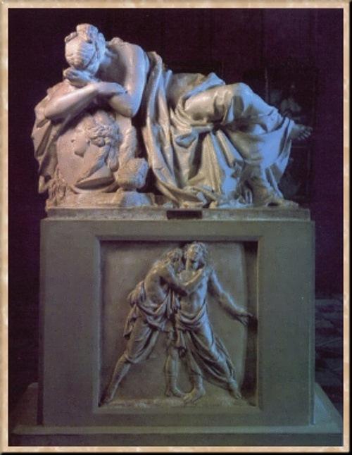 Tombstone of E.S. Kurakina Ivan Martos