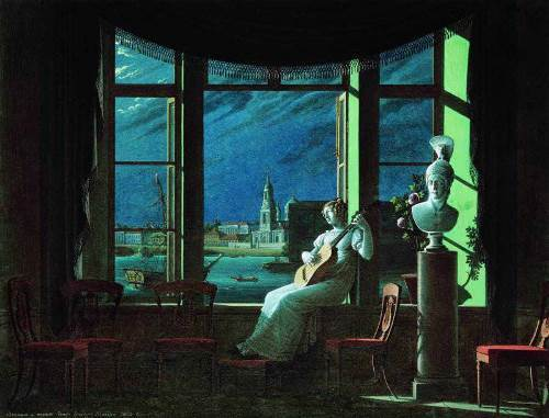 Moonlight night Fedor Tolstoy
