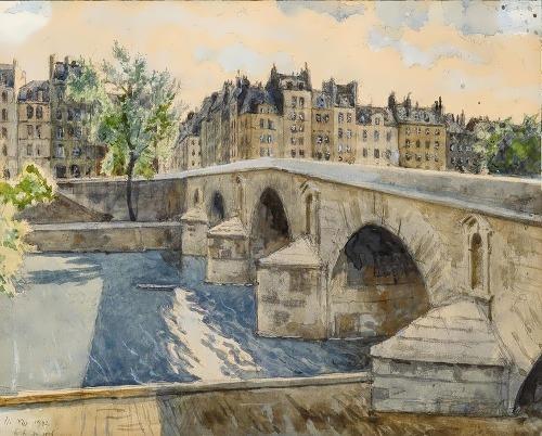 Pont Marie Paris Alexander Benois