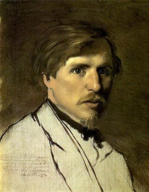 Portrait of I.M. Pryanishnikov Vasily Perov