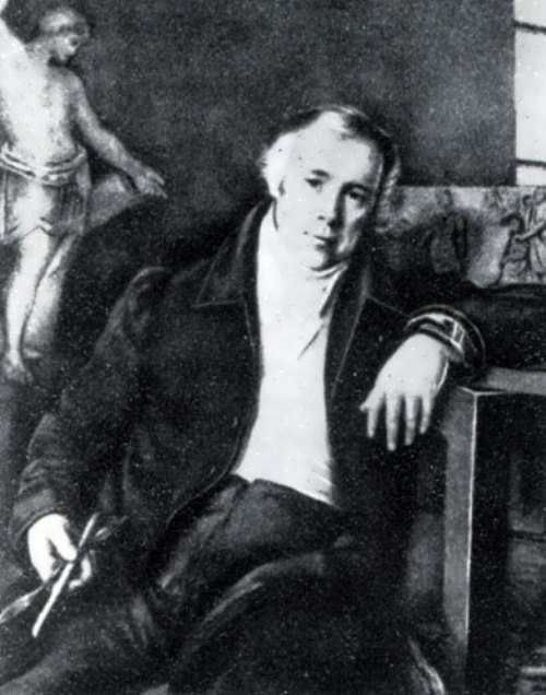 М. I. Terebenev. Portrait of V. I. Demut-Malinovsky