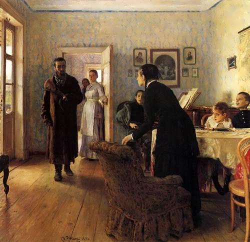 Unexpected Return Ilya Repin