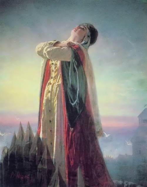 Yaroslavnas Lament Vasily Perov