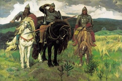 Bogatyrs Viktor Vasnetsov