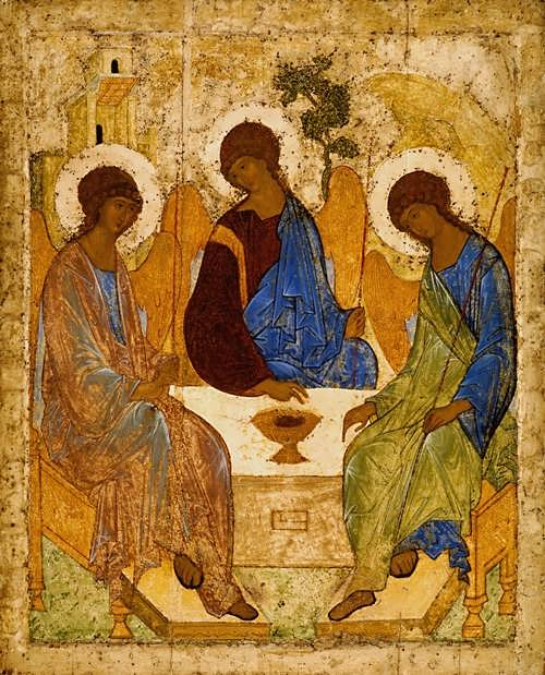 The Holy Trinity Andrei Rublev