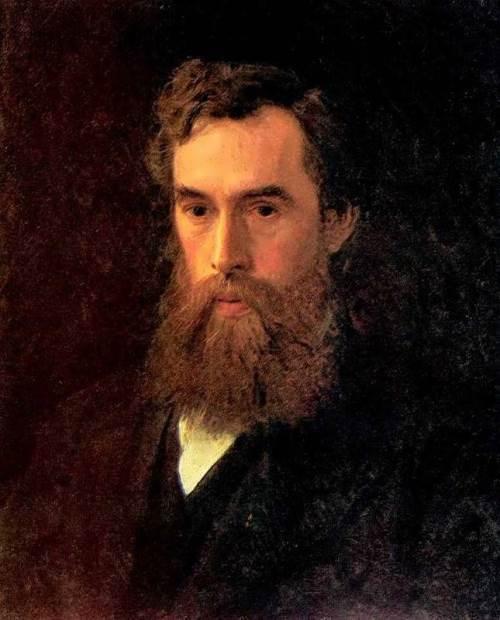 Ivan Nikolaevich Kramskoy. Portrait of P. Tretyakov