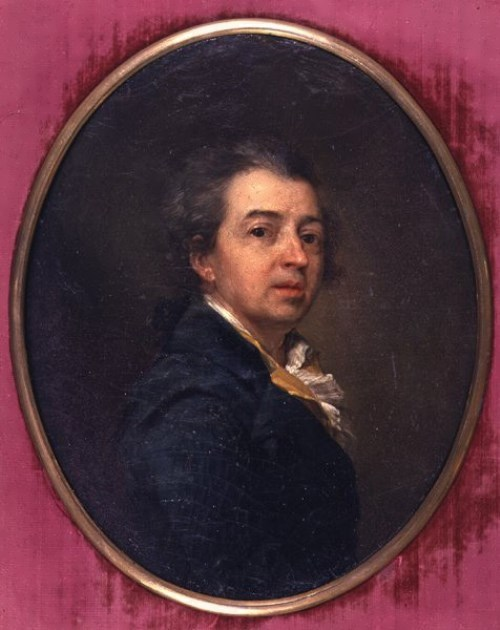 Dmitry Levitsky Self-portrait