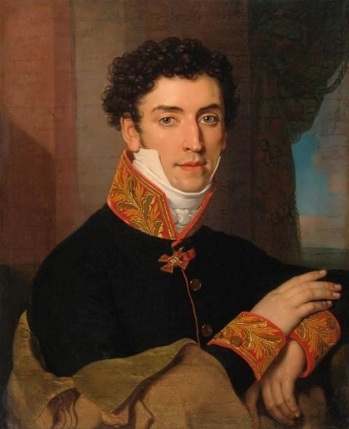Portrait of a Man Vladimir Borovikovsky