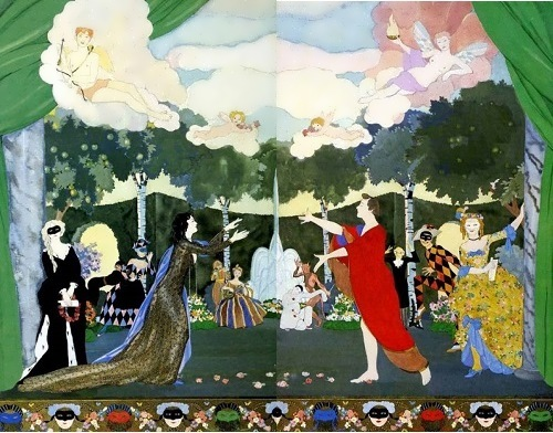 Sketches for the Moscow Free Theatre Konstantin Somov
