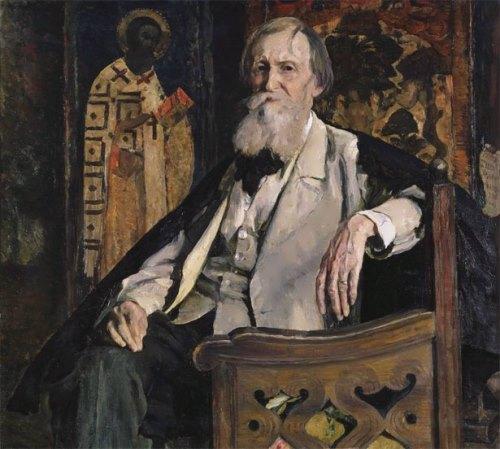 M. B. Nesterov Portrait of Vasnetsov