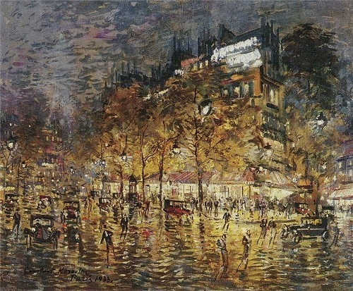 Paris Konstantin Korovin