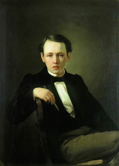 Self-portrait Vasily Perov