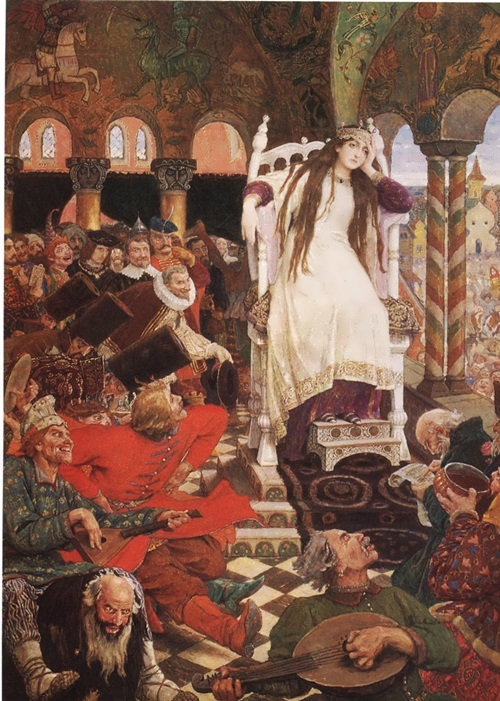 The Princess Who Would Not Laugh Viktor Vasnetsov