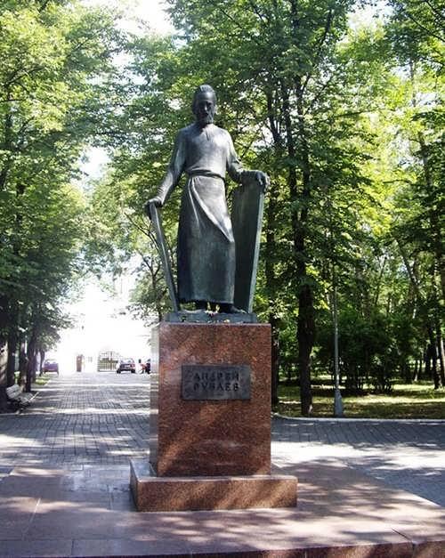 Monument to Rublev by Oleg Komov