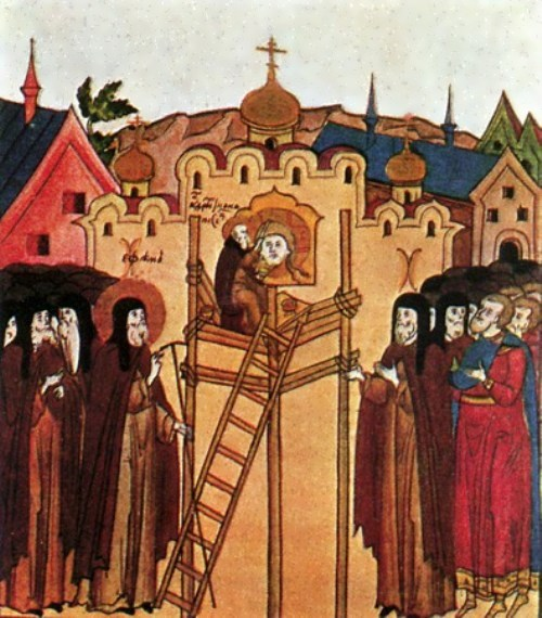 Rublev painted the Saviour Cathedral in Andronik Monastery