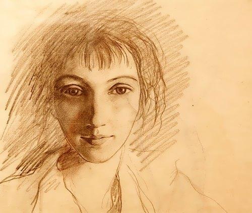 Self-portrait Zinaida Serebryakova