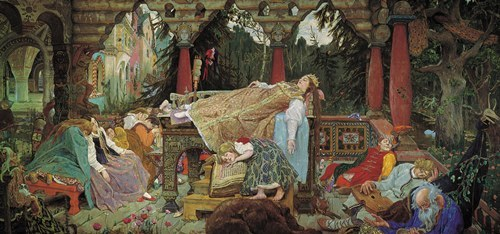 The Sleeping Princess Viktor Vasnetsov