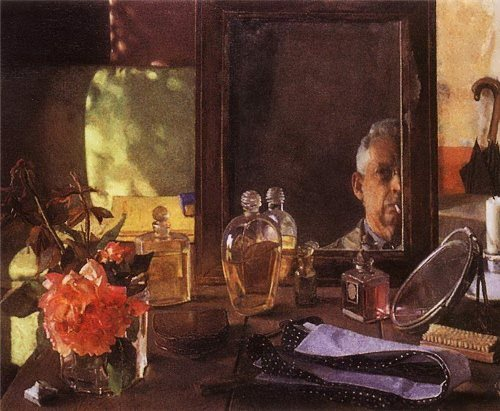 Self-portrait in a mirror Konstantin Somov