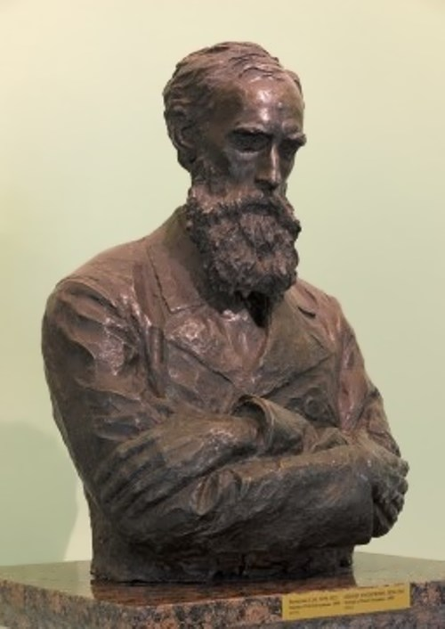 Volnukhin Sergey. Portrait of P. Tretyakov