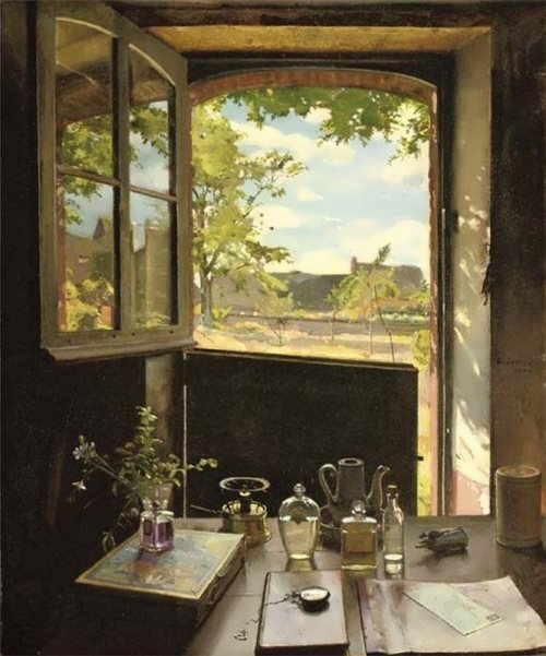 View from the window Konstantin Somov