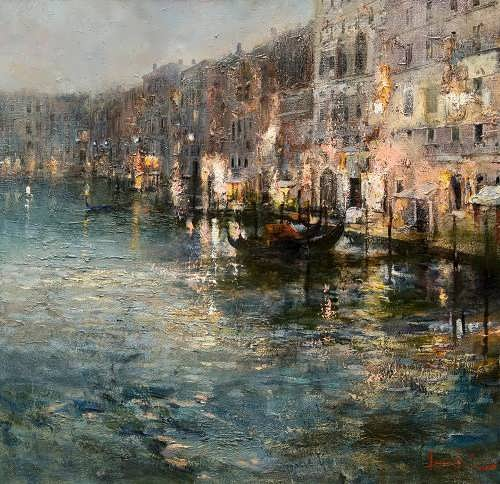 Late evening in Venice Roman Lyapin