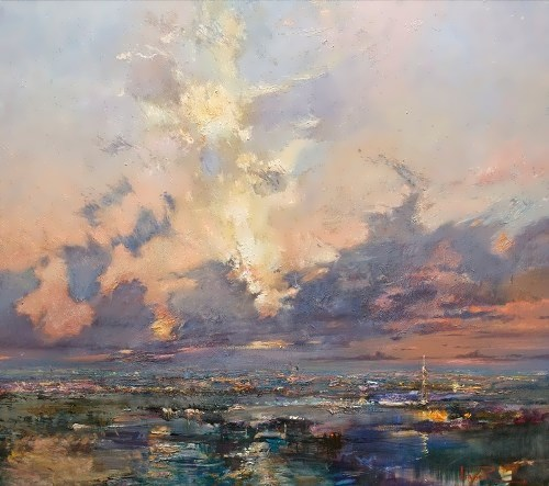 Skylight above the horizon Roman Lyapin