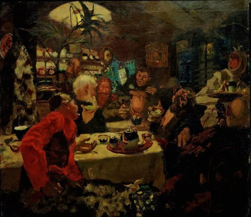 Tea Party Nikolai Sapunov