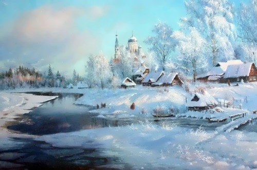 Amazing Russian landscape by V. Zhdanov