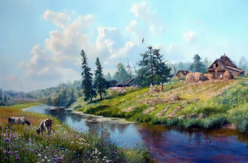 Amazing Russian landscape by V. Zhdanov