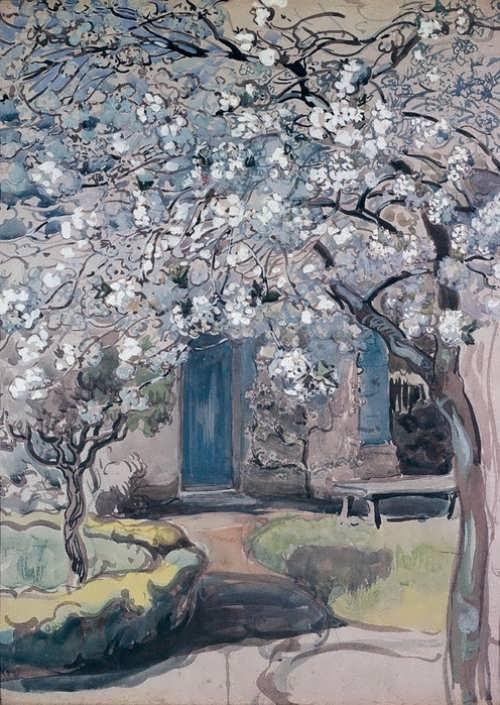 Flowering apple tree Maria Yakunchikova