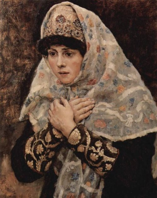 Boyar daughter Vasily Surikov