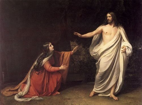 The Appearance of Christ to Mary Magdalene Alexander Ivanov
