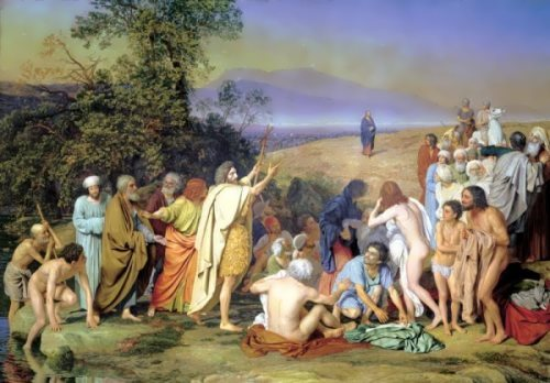 Christ Appearance before the People Alexander Ivanov