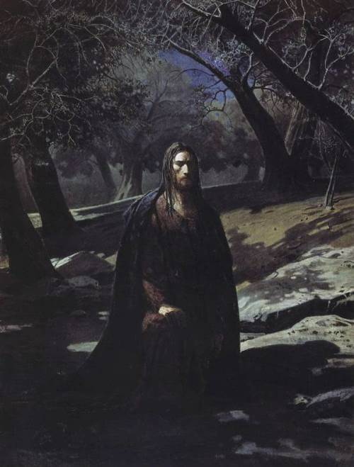 Christ in the Garden at Gethsemane Nikolai Ghe