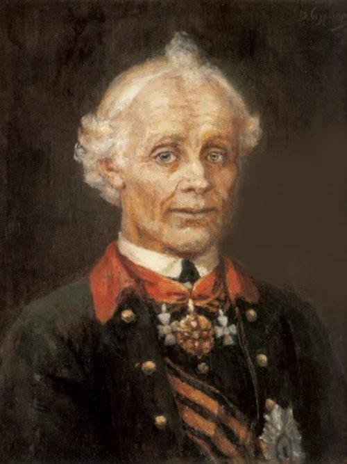 Generalissimus Suvorov Vasily Surikov