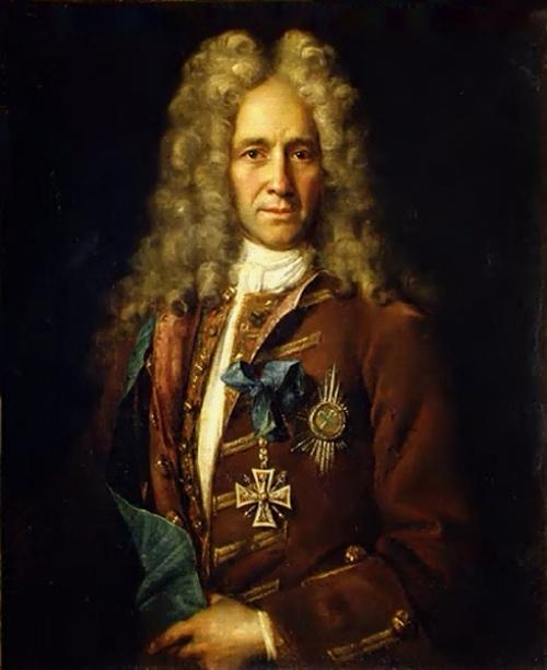 Portrait of Chancellor G.I. Golovkin Ivan Nikitin