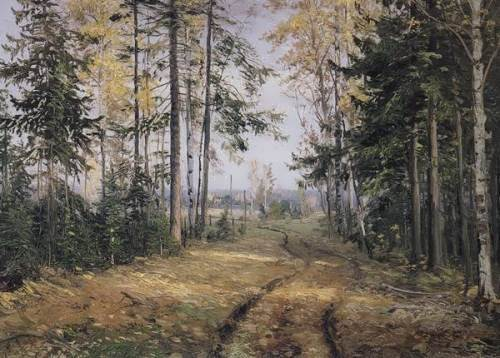 In the wood Nikolai Ghe