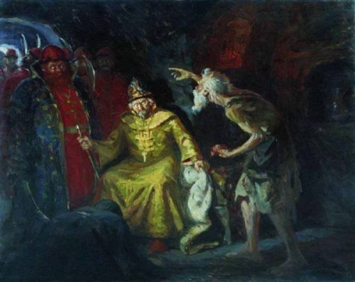 Ivan the Terrible Andrei Ryabushkin