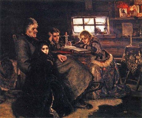 Menshikov in Beryozovo Vasily Surikov