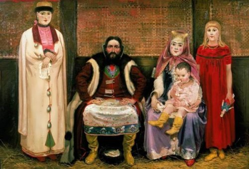 The Merchants Family Andrei Ryabushkin