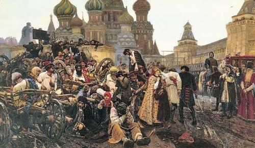 The Morning of the Streltsis Execution Vasily Surikov