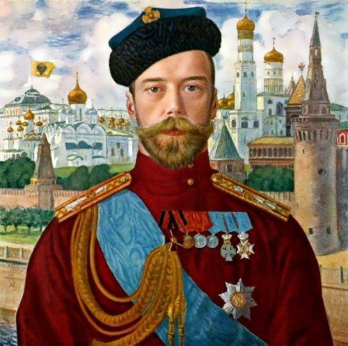 Emperor Nicholas II Boris Kustodiev