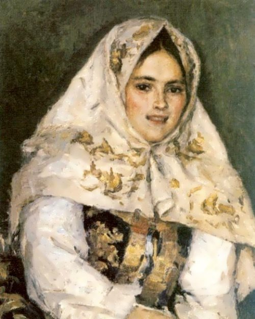 Siberian beauty Vasily Surikov
