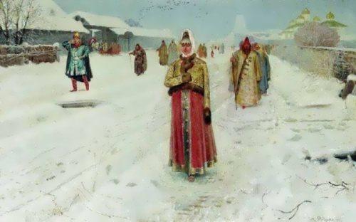 Sunday Afternoon Andrei Ryabushkin
