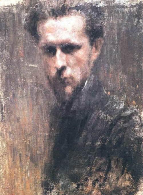 Mstislav Dobuzhinsky Self-Portrait