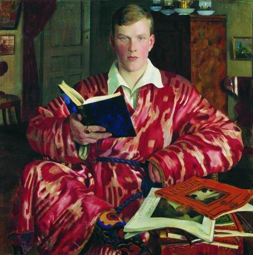 Portrait of Kirill Kustodiev son of the artist