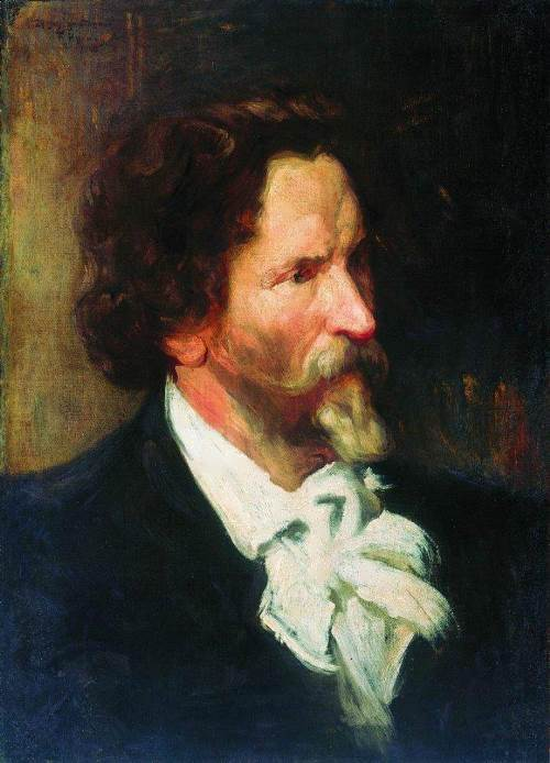 Portrait of I.E. Repin Boris Kustodiev