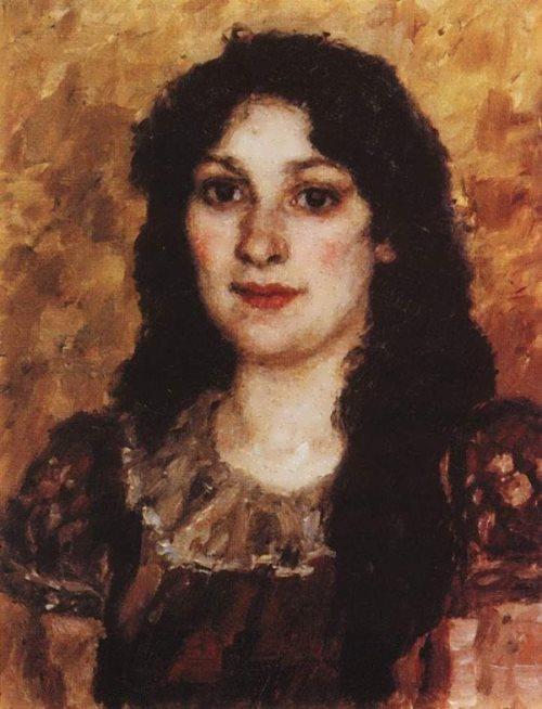 Elizabeth Avgustovna Surikova Vasily Surikov